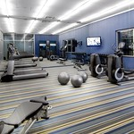 Aloft Chesapeake—re:charge fitness room