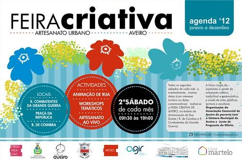 Última FEIRA CRIATIVA 2012 by Linhas Arrojadas Atelier de Costura ® Trademark