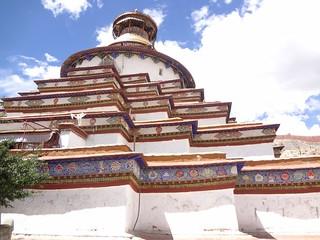 Estupa Kumbum Gyantse Tibete