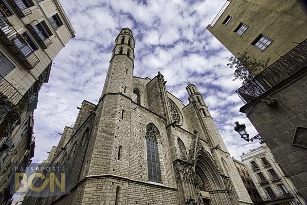 Santa Maria del Mar, El Born, Barcelona