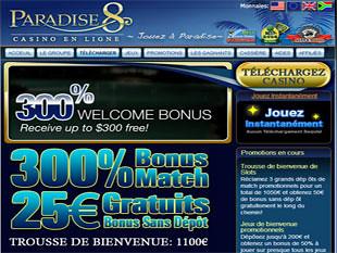 Paradise 8 Casino Lobby