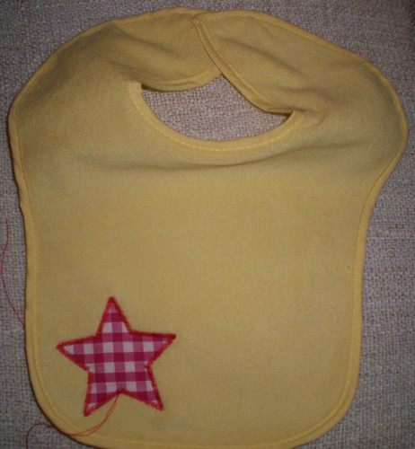 Baby Bib with Star