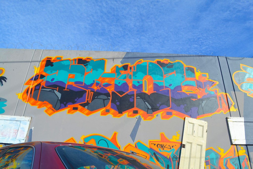 PHOE, Graffiti, Street Art, Oakland,