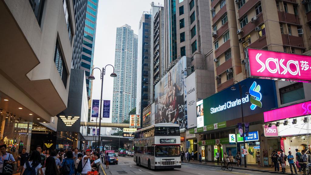 Nathan Road в Гонконге