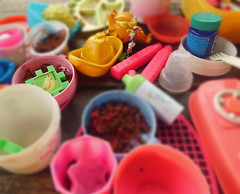 Colorful of Toys