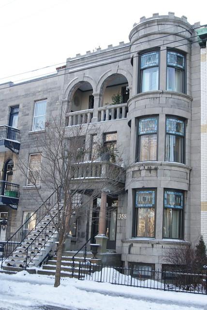 Montreal Style Triplex