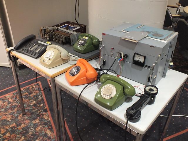 Damit haben wir mal telefoniert, die guten alten Fernsprecher