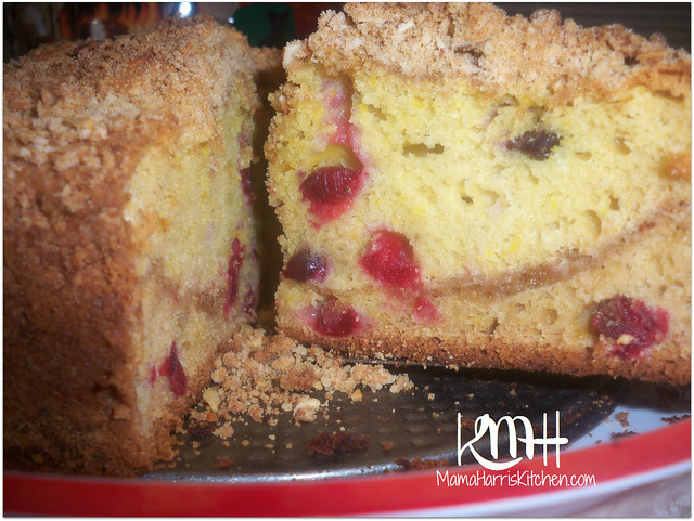 Cranberry Crumble Coffee Cake | Mama Harris' Kitchen