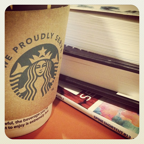 #starbucks #books #love