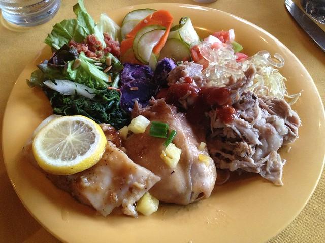 Ali'i Luau buffet