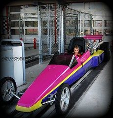 "In 3 seconds From 0 to 100 KM : Our son in his Dream Car ""The Dragster"" / Onze Zoon in zijn Droom Auto "" De Dragster """