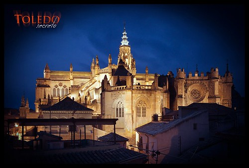 Panorámica de la Catedral desde una vivienda en la Calle del Lócum.