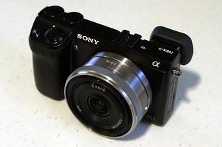 Sony NEX-7, Sony SEL1628 2.8/16