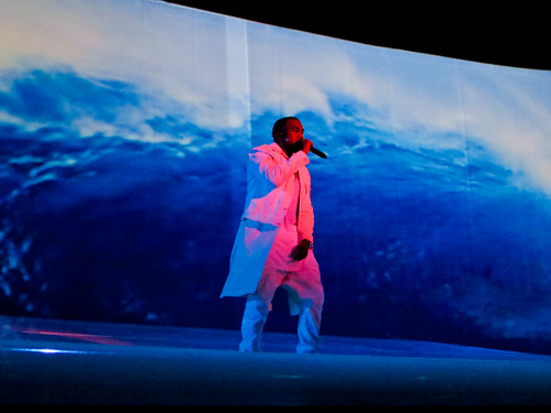 Kanye West Performing at Revel Ovation Hall (12/29/12)