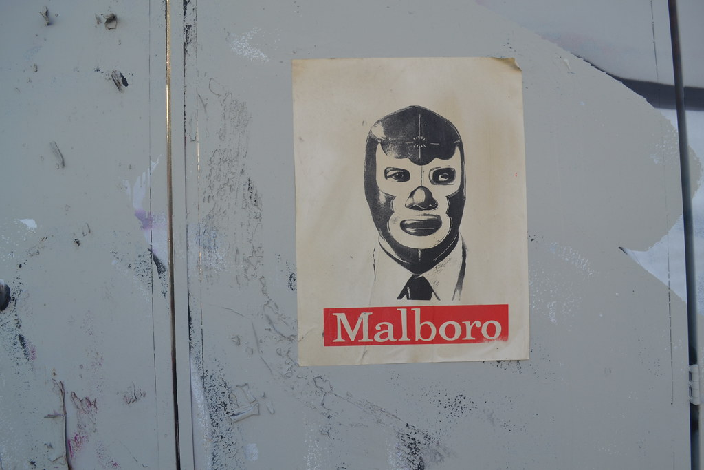MALBORN, wheatpaste, Graffiti, Street Art, Oakland