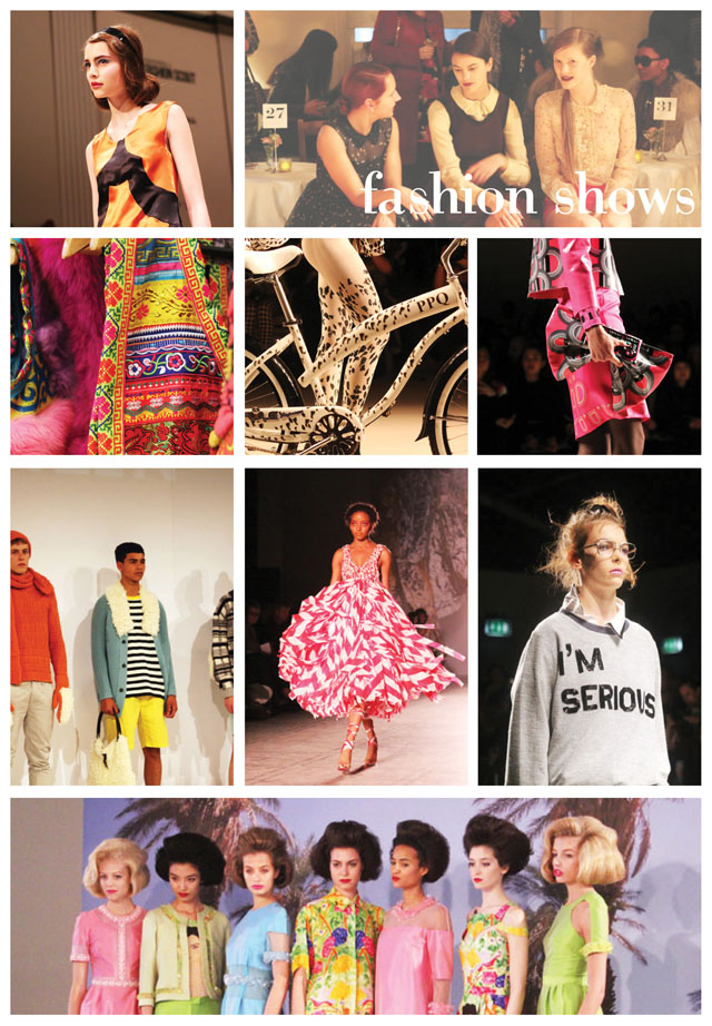 fashion shows I saw in 2012