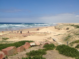 Image of Stockton Beach near Medowie. australia nsw portstephens
