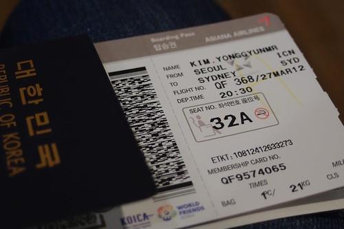 Sydney Ticket