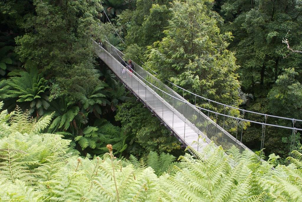 Corrigan Suspension Bridge