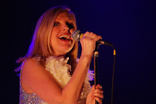 Sarah Cracknell of Saint Etienne: photo by Michael Ligon