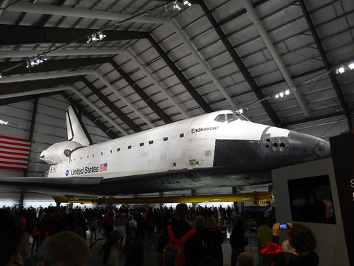 Space Shuttle Endeavor at California Sience Center