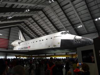 Space Shuttle Endeavor at California Sience Center