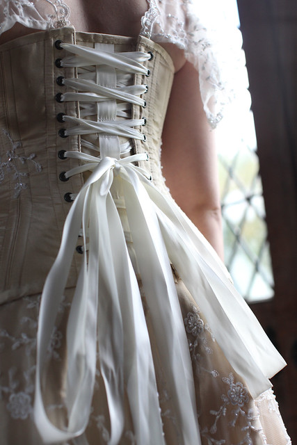 Moody Marriage - Homemade wedding dress