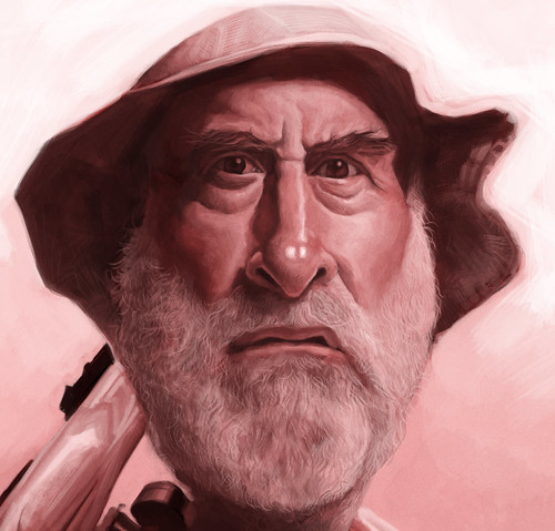 digital caricature of Dale - 3