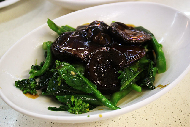 Yu - Kailan with Mushrooms