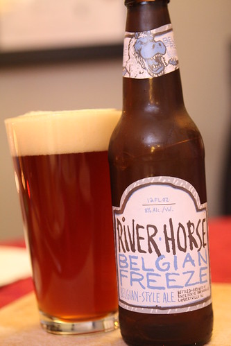 River Horse Brewing Company Belgian Freeze