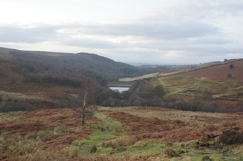 Heading down towards Oak Dale, North York Moors