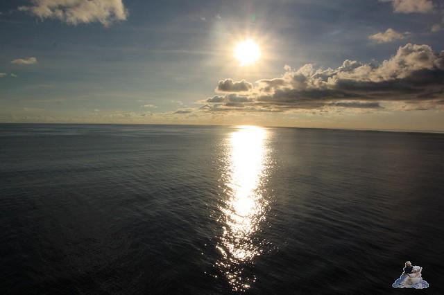 Sonnenschein trotz Wolken