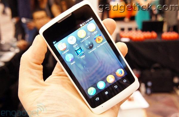 смартфон ZTE и Firefox