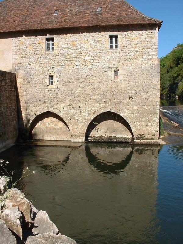 Cabrerets : Le Moulin à eau du château