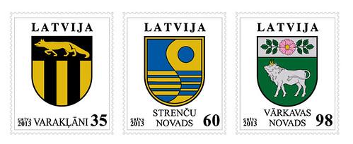 Latvijas pilsētu un novadu ģerboņi