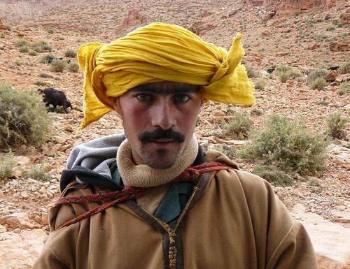 Pastor bereber (Marruecos)