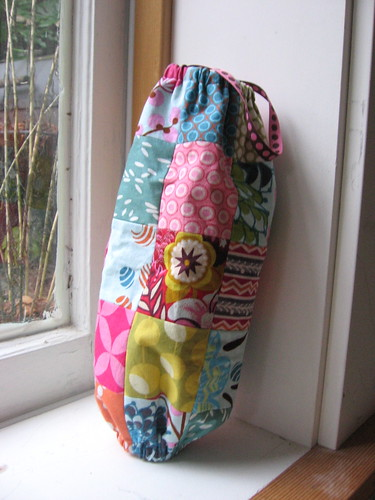 patchwork bag holder