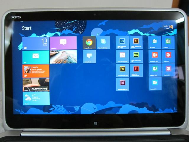 Dell XPS 12 - Start Screen