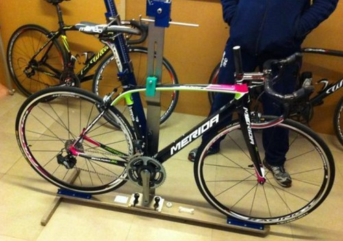 Team Lampre - Merida bike