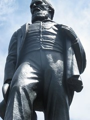 Statue of J.E. Fitzgerald, taken 2011.