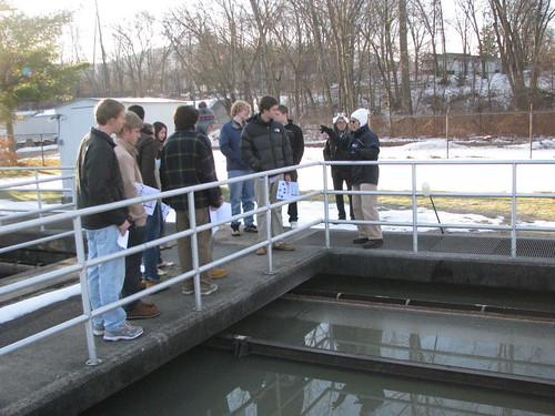 Easthampton Wastewater Treatment Plant Field Trip 2013