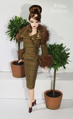 Silkstone Barbie in Arina fashions. IMPRESSIONS