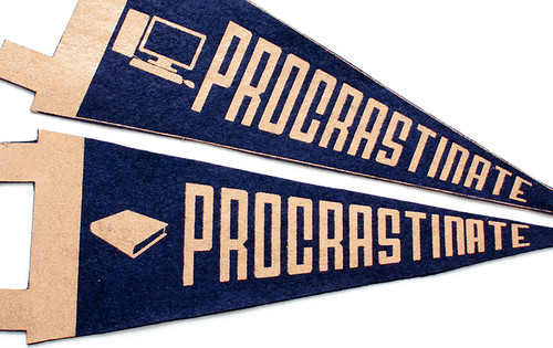 procrastinate pennants