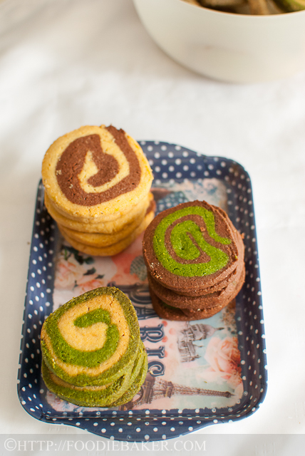 Spiral Ice Box Cookies