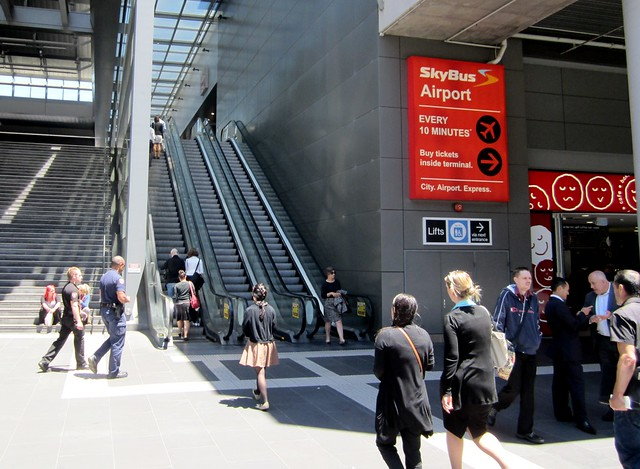 Southern Cross Station - Bourke St entrance