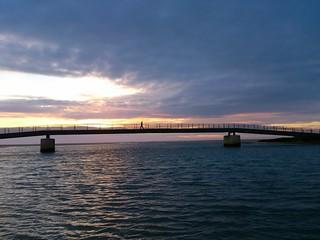 Puente Del Rio Salado en Conil de la Frontera...