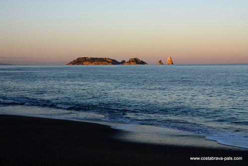 Playa de Pals, les iles Medes