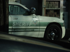 Dodge Charger. Clackamas County Sheriff @ The Home Depot.