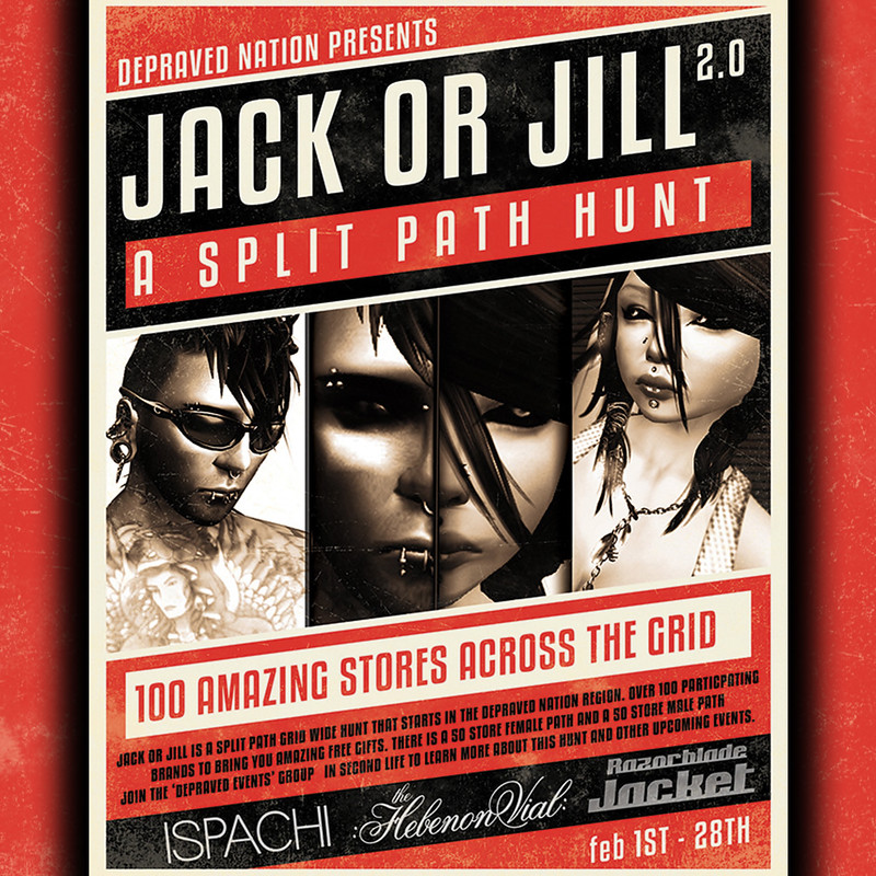 Jack or Jill 2.0 - A split path Hunt