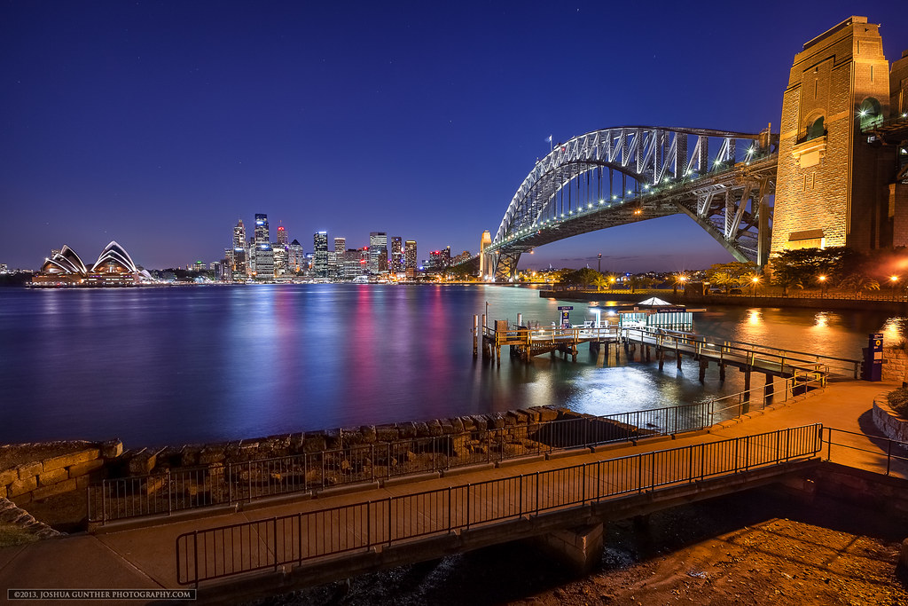 Across the Harbour- Sydney Australia